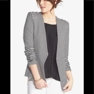 Tart striped sweatshirt blazer